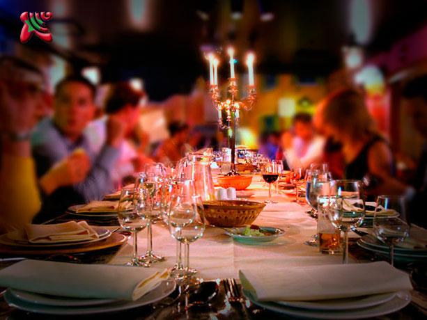 Cenas de empresa madrid originales packs descuento for Cenas originales