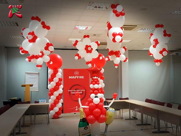 decoracion con globos madrid fiestas infantiles para centros comerciales