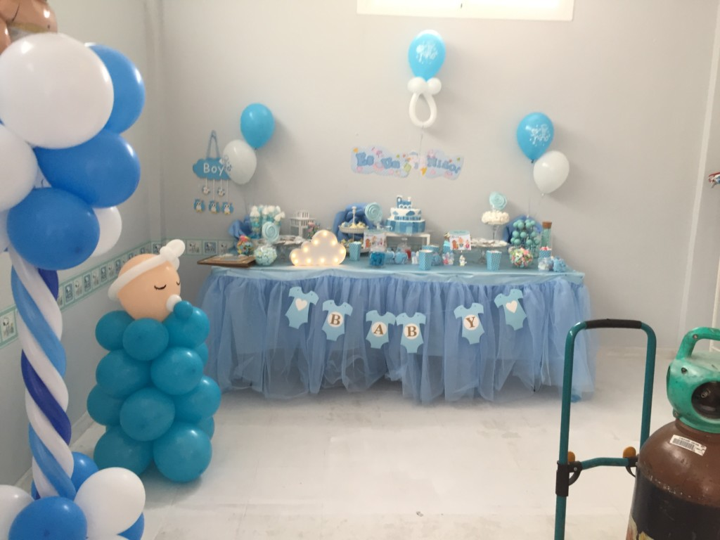 Mesas dulces para baby shower comuniones fiestas for Mesa dulce para baby shower